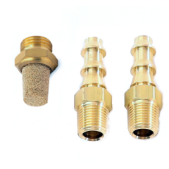 5 Port Boost Control Solenoid (BCS) Fittings and Breather Filter
