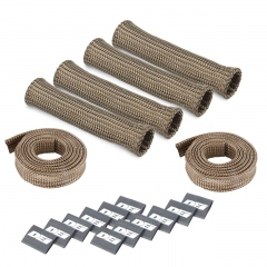 Titanium Protect-A-Boot and Wire Kit 4 or 6 Cylinder
